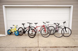 A great selection of bikes.